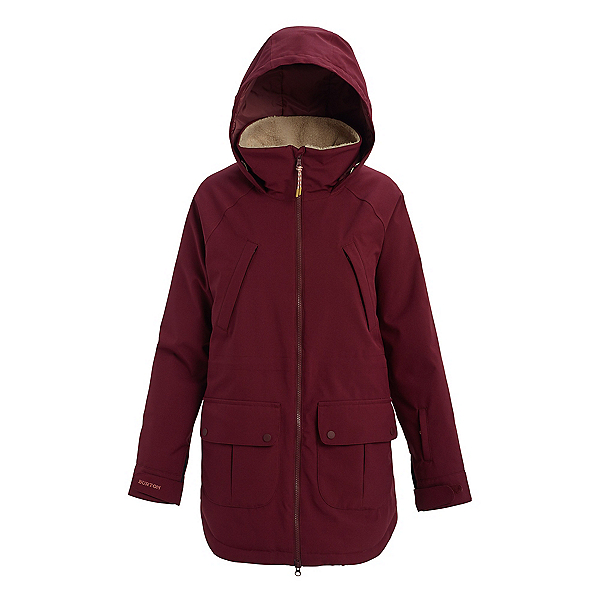 Burton Prowess Womens Insulated Snowboard Jacket, Port Royal, 600