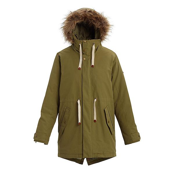 Burton Saxton Parka Womens Jacket, Martini Olive, 600