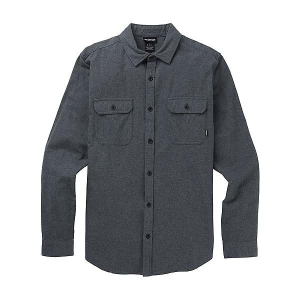 Burton Brighton Premium Flannel Shirt 2020, Gray Heather, 600