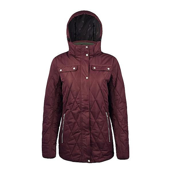 Boulder Gear Alicia Womens Insulated Ski Jacket, Wild Berry, 600