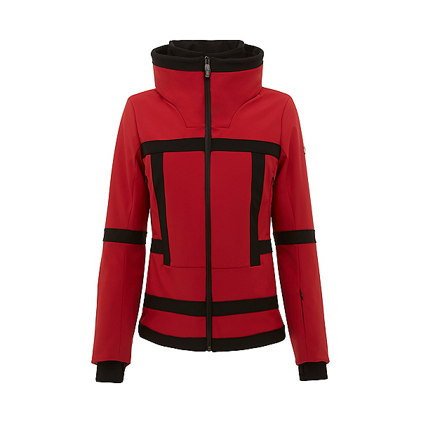Postcard Ismail Womens Insulated Ski Jacket, Rosso, 600
