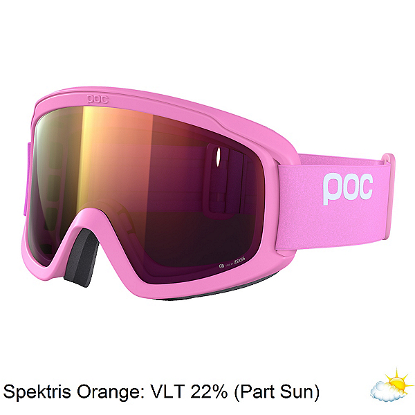 POC Opsin Clarity Womens Goggles, Actinium Pink-Spektris Orange, 600