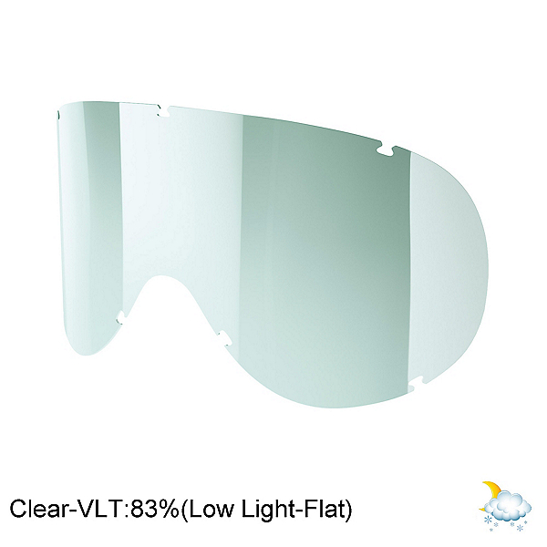 POC Retina Goggle Replacement Lens, Clear, 600