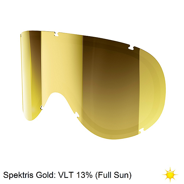 POC Retina Goggle Replacement Lens, Clarity-Spektris Gold, 600