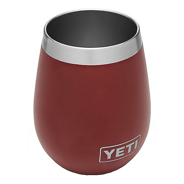 YETI Rambler Wine Tumbler, Brick Red, 600
