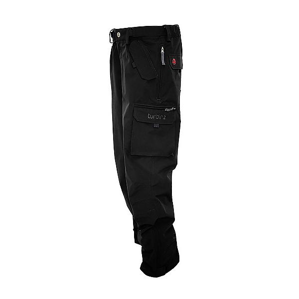 Turbine FDGB Mens Snowboard Pants, Black, 600