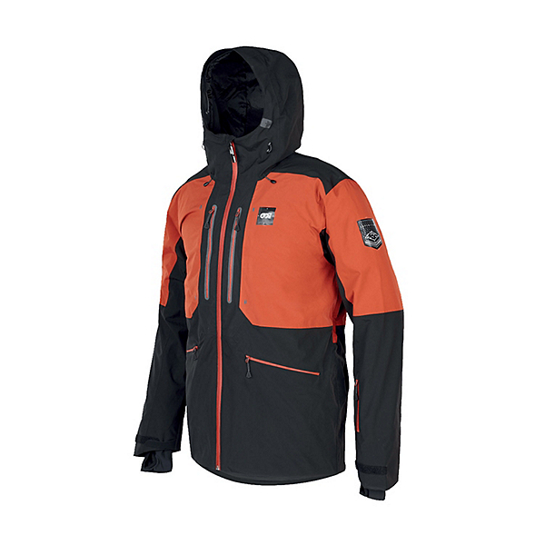 Picture Naikoon Mens Insulated Ski Jacket, Brick, 600