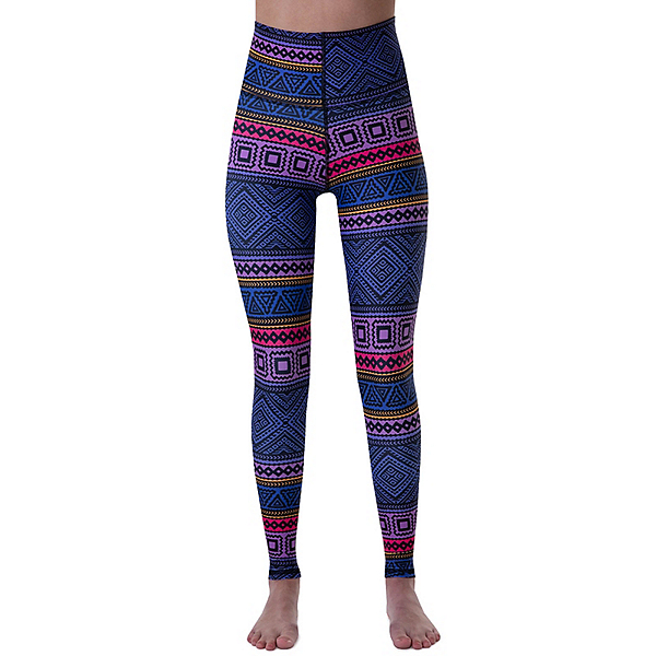 BlackStrap Sunrise Womens Long Underwear Pants, Tribe Purple, 600