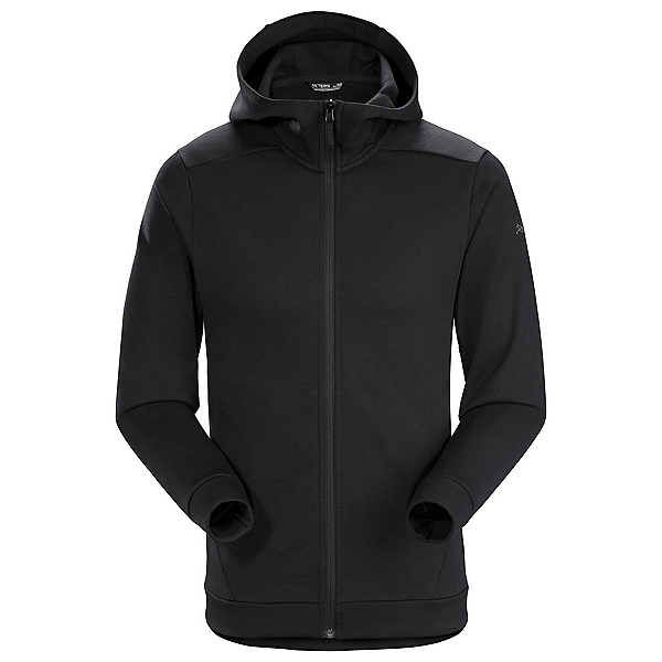 Arc'teryx Dallen Fleece Hoodie Mens Jacket 2020, Black, 600