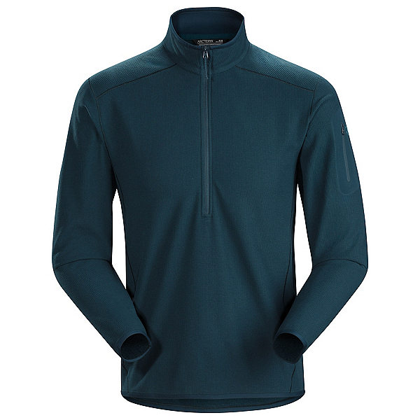 Arc'teryx Delta LT Zip Neck Mens Mid Layer, Labyrinth, 600