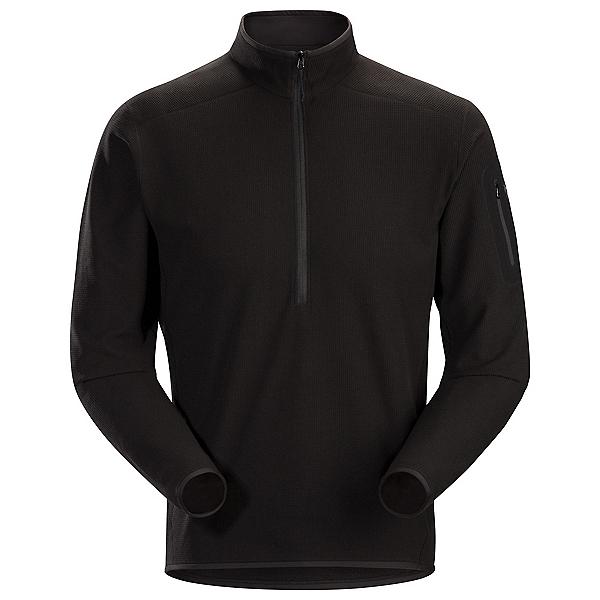 Arc'teryx Delta LT Zip Neck Mens Mid Layer, Black, 600