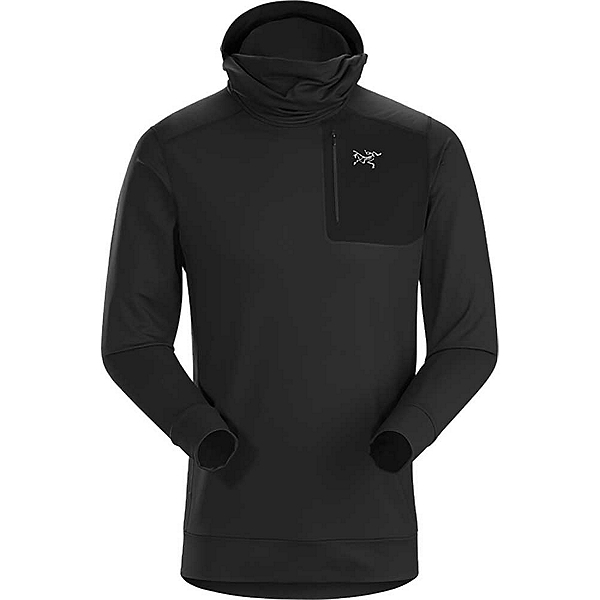Arc'teryx Stryka Hoody Mens Mid Layer, Black, 600