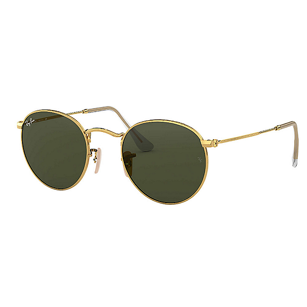 Ray-Ban Round Metal Sunglasses, , 600