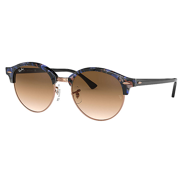Ray-Ban Clubround Fleck Womens Sunglasses, , 600