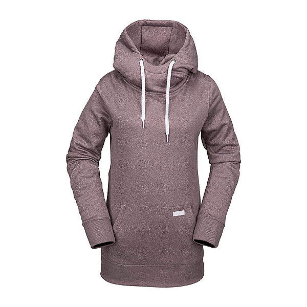 Volcom Yerba Fleece Womens Hoodie, Purple Haze, 600