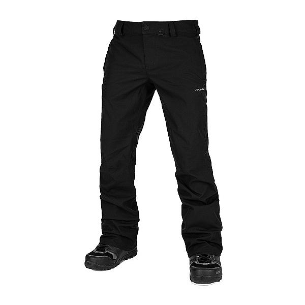 Volcom Klocker Tight Mens Snowboard Pants, Black, 600
