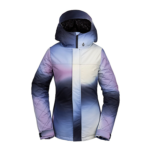 Volcom Bolt Womens Insulated Snowboard Jacket, White, 600