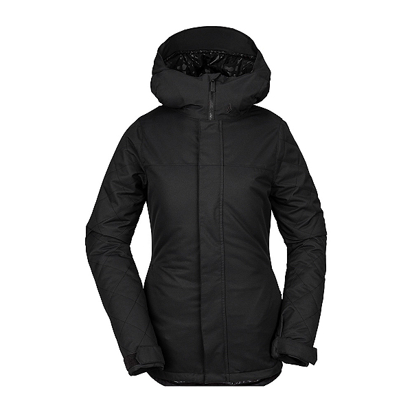 Volcom Bolt Womens Insulated Snowboard Jacket, Black, 600