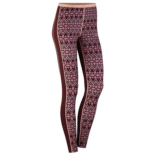 Kari Traa Lune Womens Long Underwear Pants 2020, Port, 600
