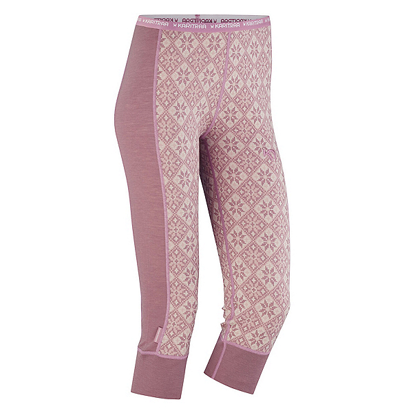 Kari Traa Rose Capri Womens Long Underwear Pants 2020, Petal, 600