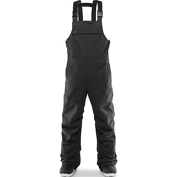 ThirtyTwo Basement Bib Mens Snowboard Pants, Black, 600
