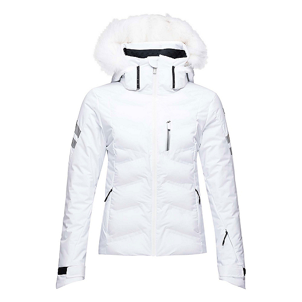 Rossignol Depart Womens Insulated Ski Jacket, White, 600