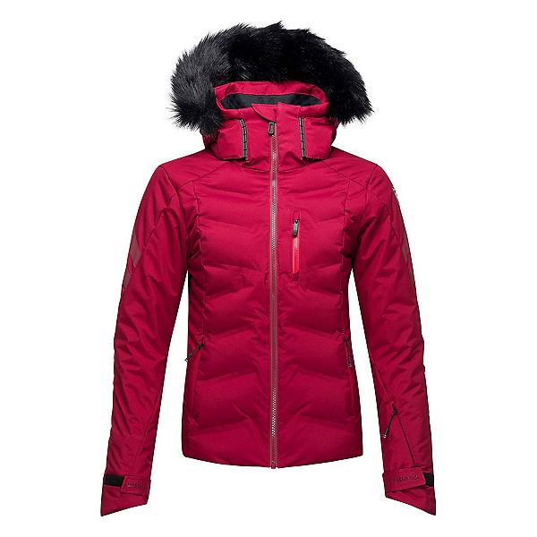 Rossignol Depart Womens Insulated Ski Jacket, Dark Red, 600