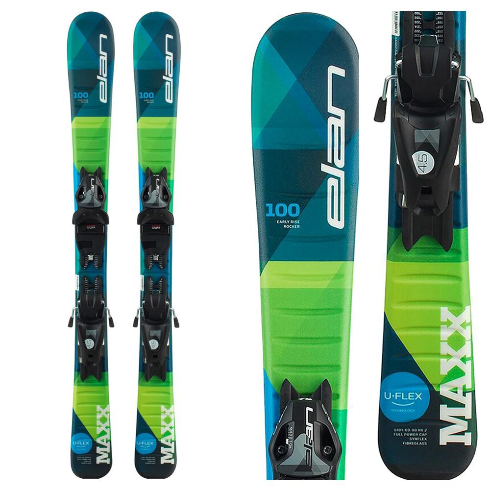 Elan Maxx 4.5 Kids Skis with EL 4.5 GW Shift Bindings 2020 im test