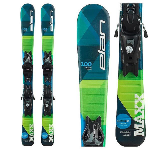 Elan Maxx 7.5 Kids Skis with EL 7.5 Bindings 2020, , 600