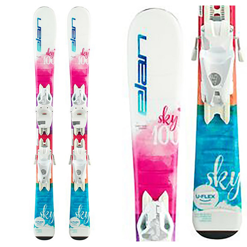 Elan Sky 4.5 Kids Skis with EL 4.5 Bindings