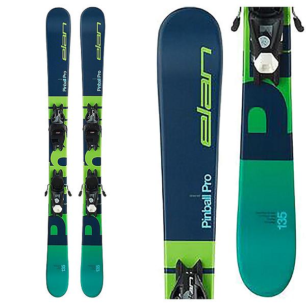 Elan Pinball Pro 7.5 Kids Skis with EL 7.5 GW Shift Bindings 2020, , 600