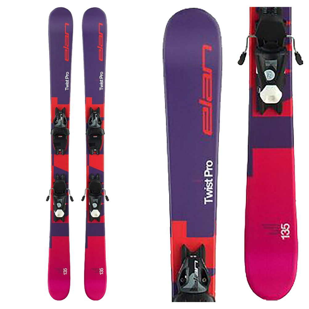 Elan Twist Pro 7.5 Kids Skis with EL 7.5 Bindings 2020
