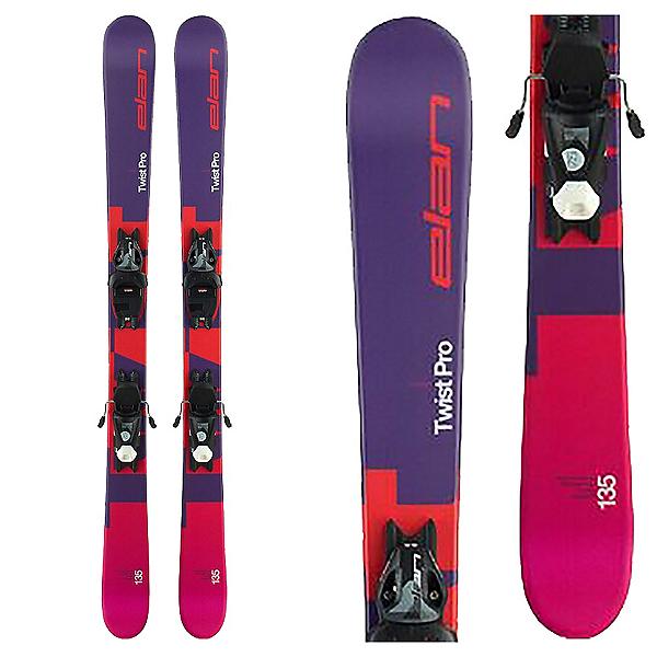 Elan Twist Pro 7.5 Kids Skis with EL 7.5 Bindings 2020, , 600