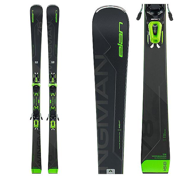 Elan Wingman 78 C Skis with EL 10.0 Shift Bindings, , 600