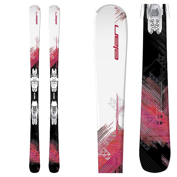 Elan Snow Womens Skis with ELW 9 Shift Bindings 2020, , 600