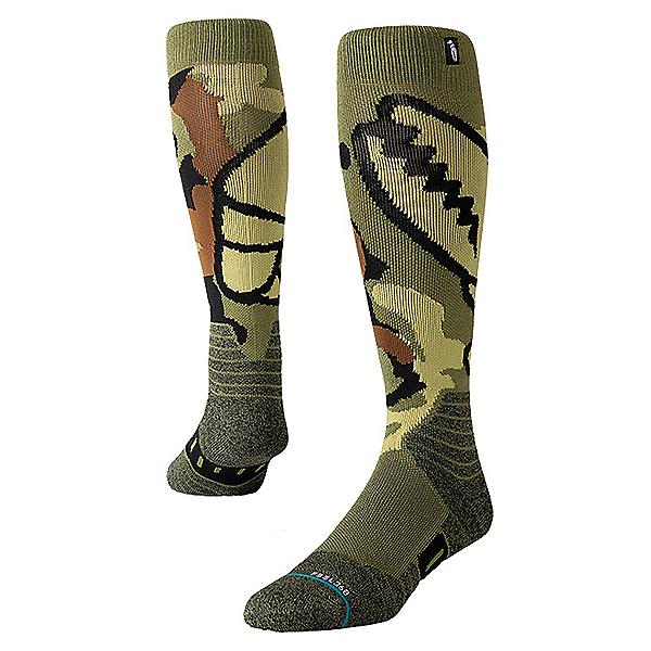 Stance Camo Grab Snowboard Socks, , 600