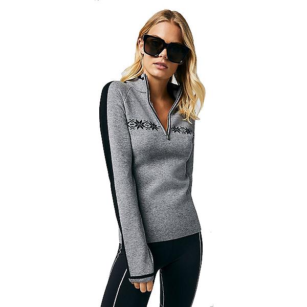 Alp-n-Rock Karlie Half Zip Womens Sweater, Heather Grey, 600