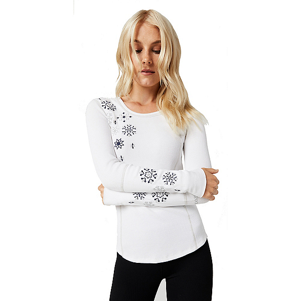 Alp-n-Rock Snowfall Thermal Womens Shirt, , 600
