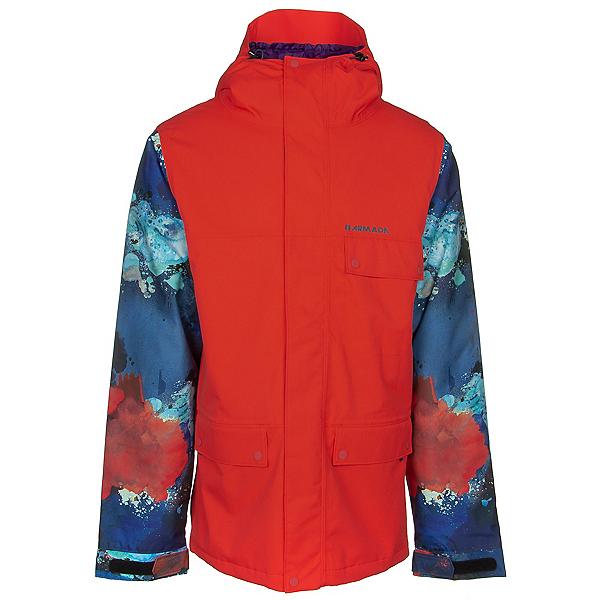 Armada Emmett Mens Insulated Ski Jacket, Flame, 600
