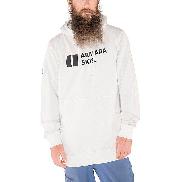 Armada Multiply Mens Hoodie, Snow Enzyme, 600