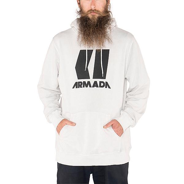Armada Icon Mens Hoodie, Snow Enzyme, 600