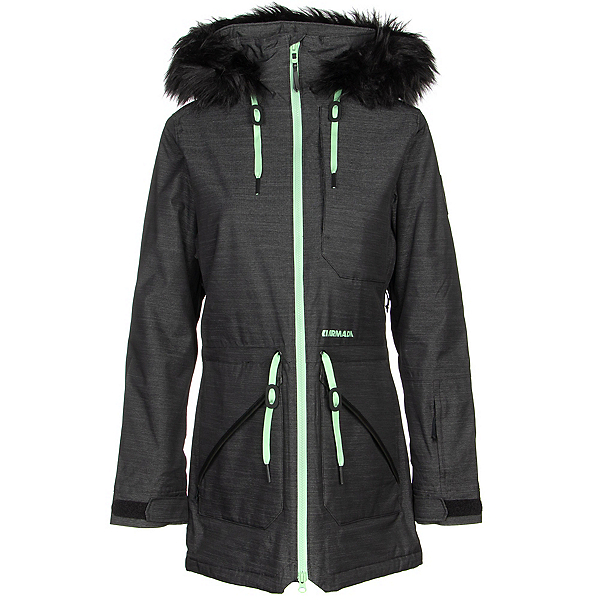 Armada Lynx Womens Insulated Ski Jacket, Black, 600
