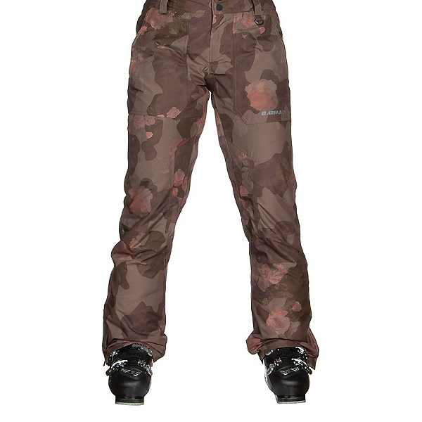 Armada Lenox Insulated Womens Ski Pants, Rosewood, 600