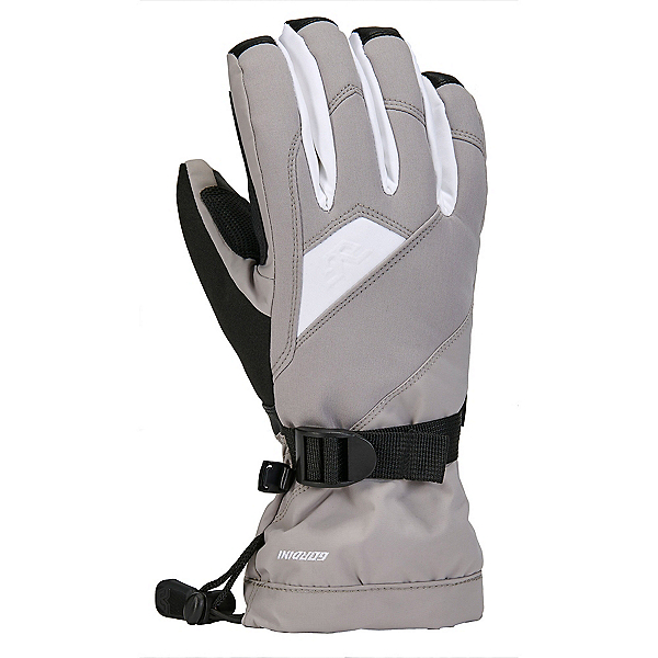 Gordini Aquabloc Down Gauntlet Womens Gloves, Clay Grey-White, 600