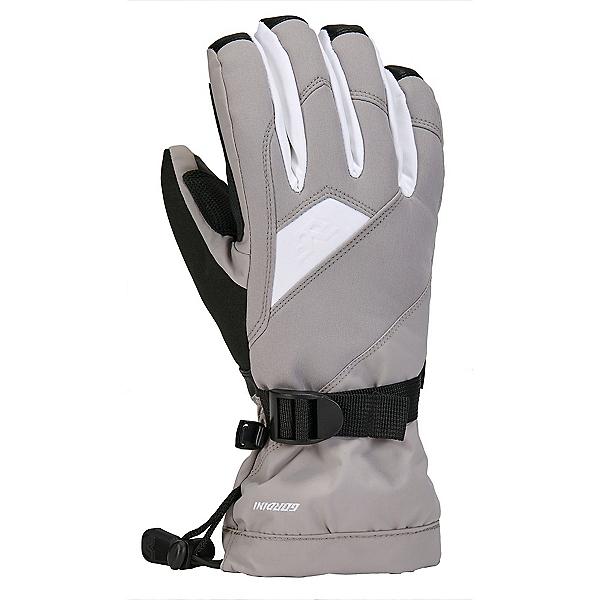 Gordini Aquabloc Down Gauntlet Womens Gloves 2022, Clay Grey-White, 600