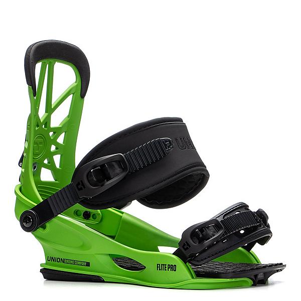 Union Flite Pro Snowboard Bindings 2020, Acid Green, 600