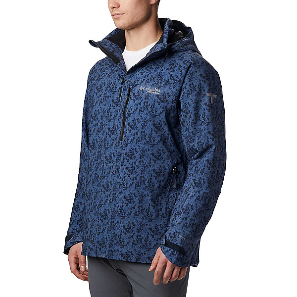 Columbia Snow Rival - Big Mens Insulated Ski Jacket, Collegiate Navy, 600