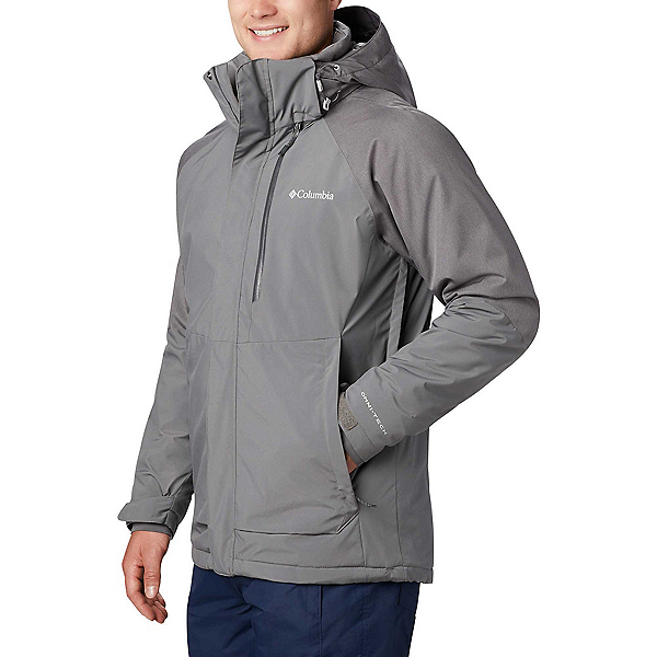 Columbia Wildside - Tall Mens Insulated Ski Jacket 2020, City Grey-City Grey Heather, 600