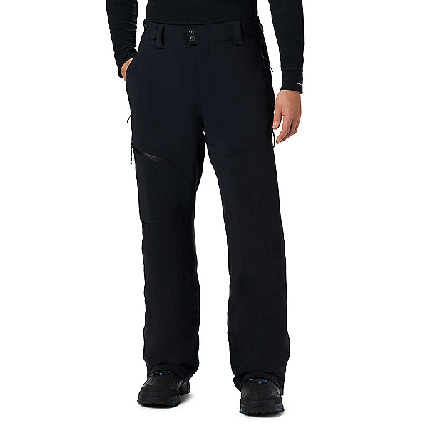 Columbia Snow Rival II Mens Ski Pants, Black, 600