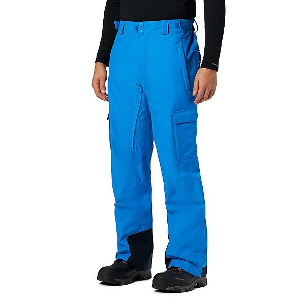 Columbia Ridge 2 Run III Mens Ski Pants, Azure Blue, 600
